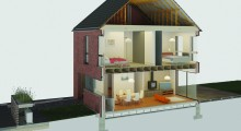 Wienerberger announces its new e4 brick house™ of the future