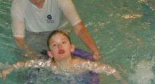 Local girl finds confidence in the water with Dorking Sports Centre
