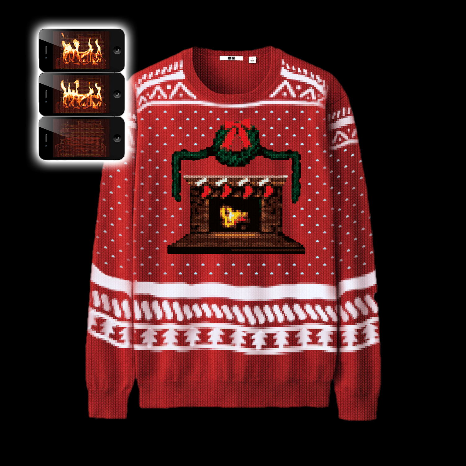 I'm dreaming of a digital Christmas: Christmas jumpers featuring ...