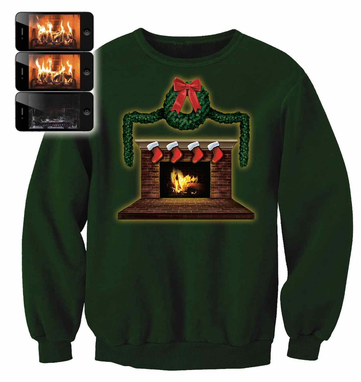 I M Dreaming Of A Digital Christmas Christmas Jumpers Featuring Wearable Technology Are Here