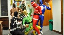 Welcome to the Morphice Party: Morphsuits save employees' dignity at company Christmas party