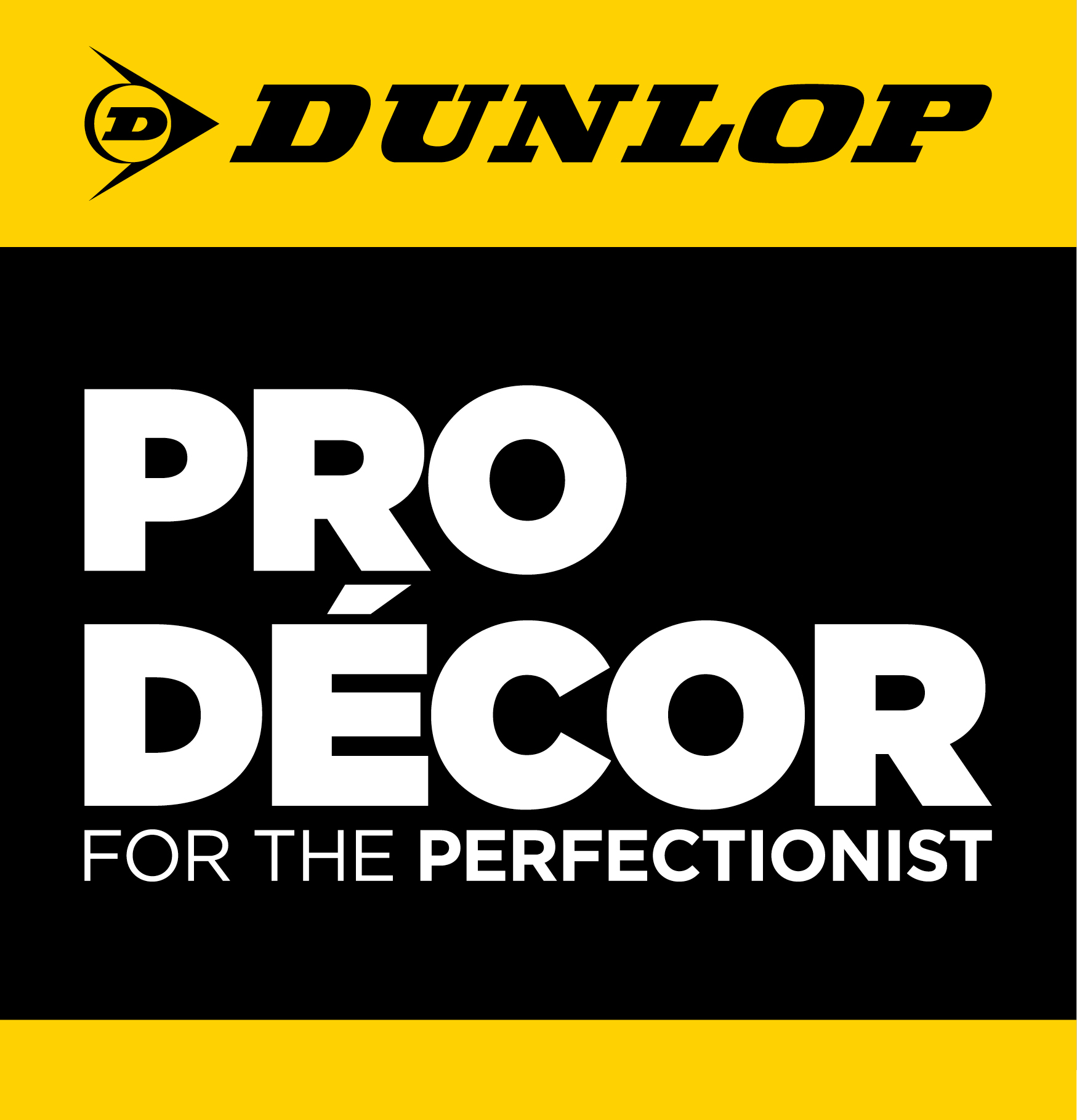 Dunlop Pro Decor will officially launch to the market in January 2014