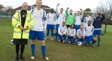 Local developer builds football club's prospects for the new season
