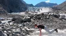 Around New Zealand in more than 80 burpees…it was 400 to be precise!