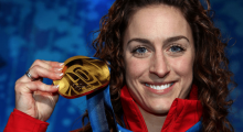 Winter Olympic Gold medallist Amy Williams takes up BMF fitness sessions to keep in shape
