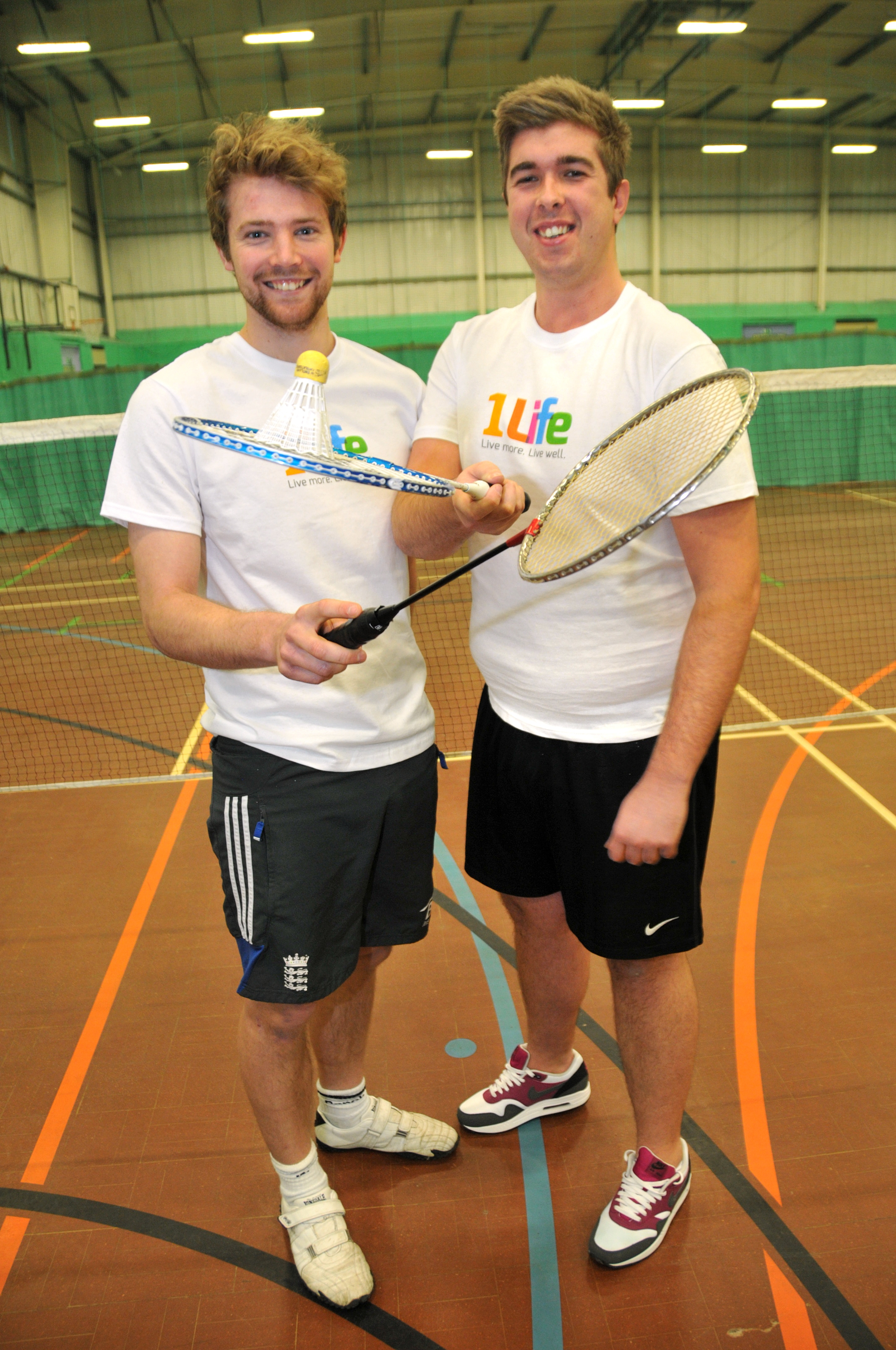 Local leisure centre managers to play longest ever badminton match