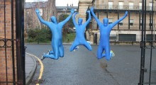 BLUE MONDAY TURNS INTO BLUE MORPHDAY
