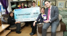 Housebuilder partners with St Gemma's Hospice to raise £25,000
