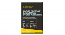 Dunlop's Large Format & Natural Stone Adhesive is set to put a spring in merchants' step