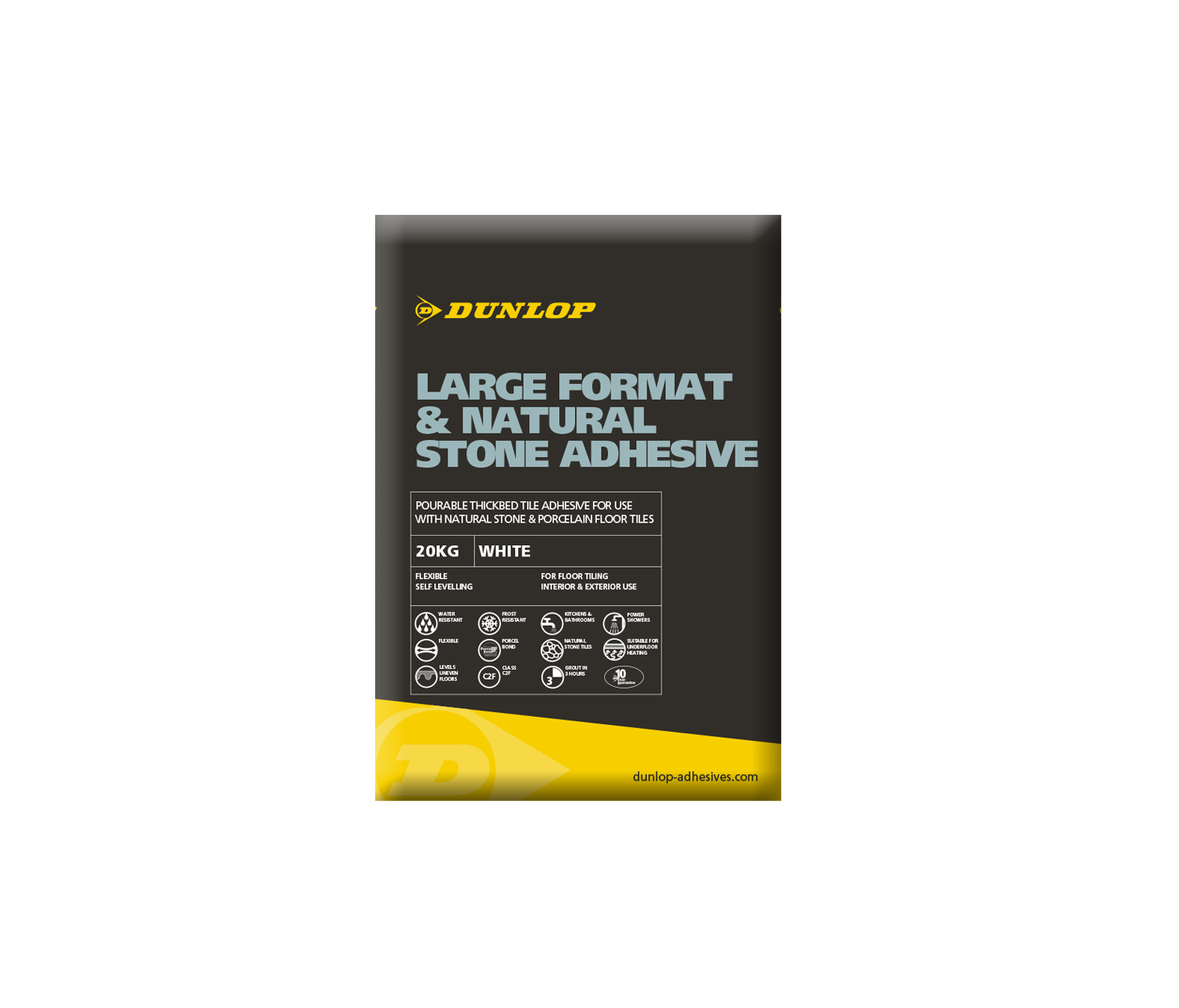 Dunlop is recommending that builders' merchants stock up their shelves with its multi-purpose adhesive.