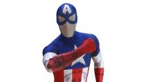 Morphsuits launches most advanced Captain America costume with virtual super powers.
