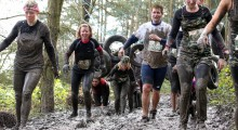 Over 1,600 people race in the Midlands' Muddiest Challenge!