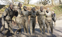 Over 2,500 people race in the South's Muddiest Challenge!