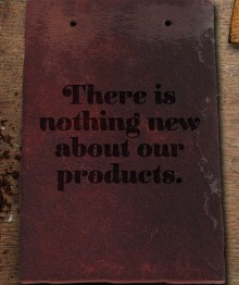 Sandtoft announces the launch of its new Handcrafted range campaign