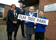 Park life – Local school pupils name new luxury housing development
