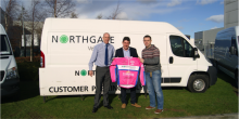 Local cycle team calls on Northgate Ireland for vital support