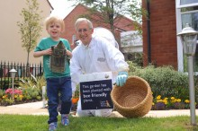Local housebuilder calls on guides and scouts to bee creative!