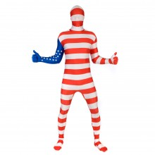 USA Flag Morphsuit 2