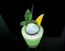 Lift your World Cup spirits with a Brazilian themed Gold Cup whiskey cocktail