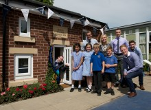Learning House unveiled at Scholes Village Primary School