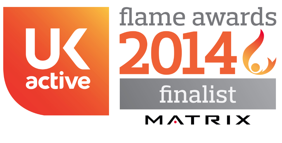 1Life is a finalist in the ukactive and Matrix National Flame Awards 2014