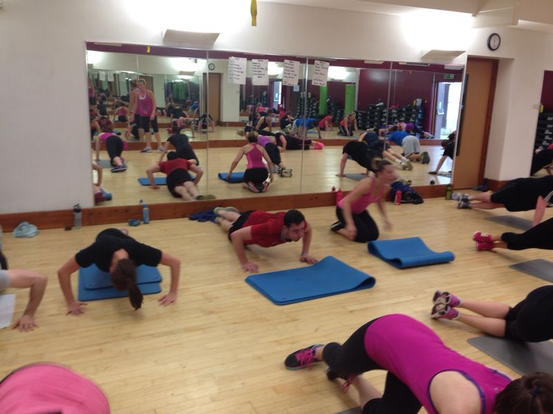 The festival saw people enjoy a wide range of fun activities including a bootcamp and an 'insanity' workout