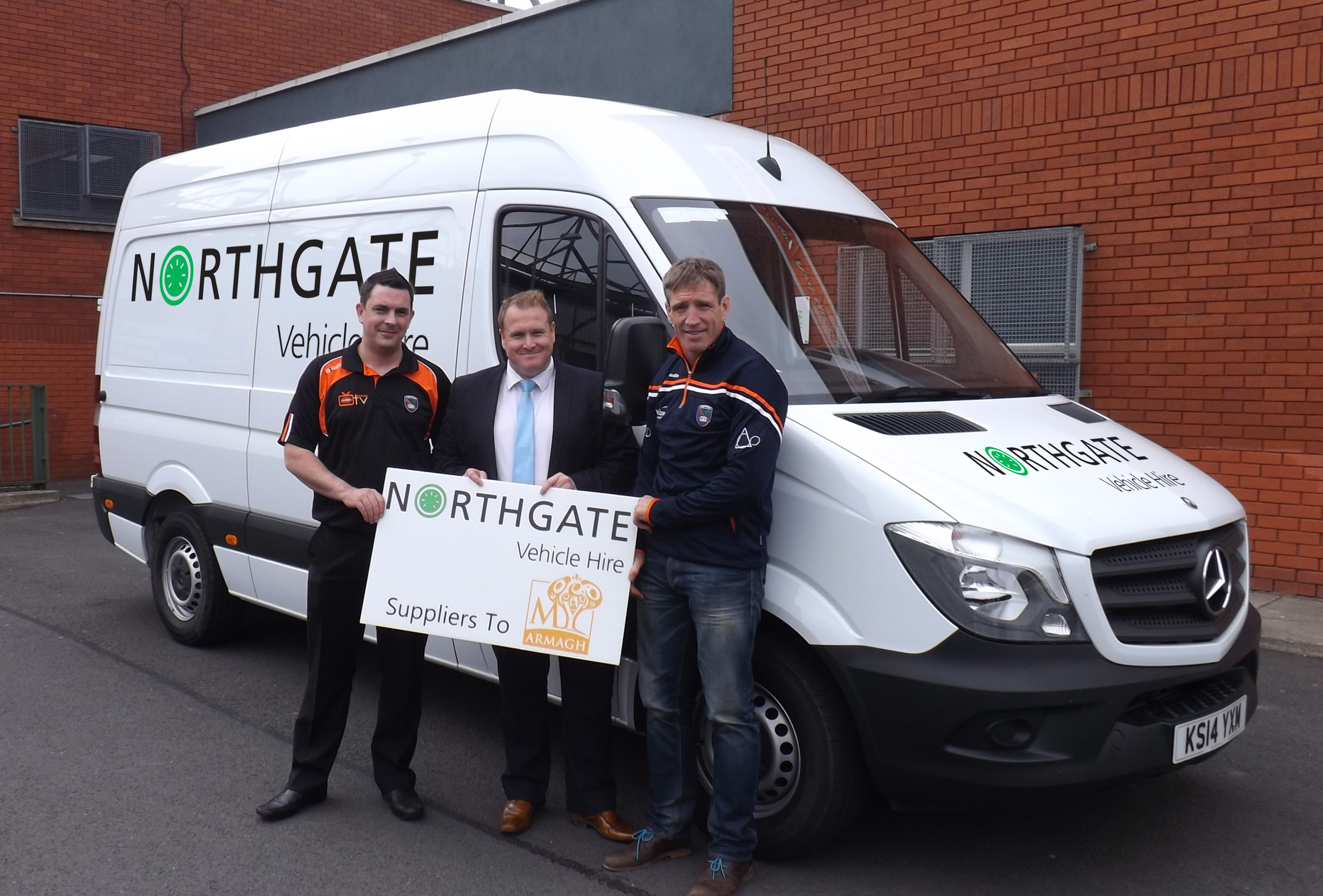 7f28dfc6a5 Armagh GAA speeds ahead with Northgate Vehicle Hire   The Digital ...