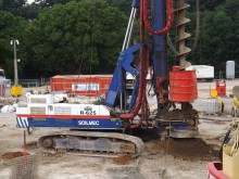 Bachy Soletanche installs piles for Lancashire's top priority transport project