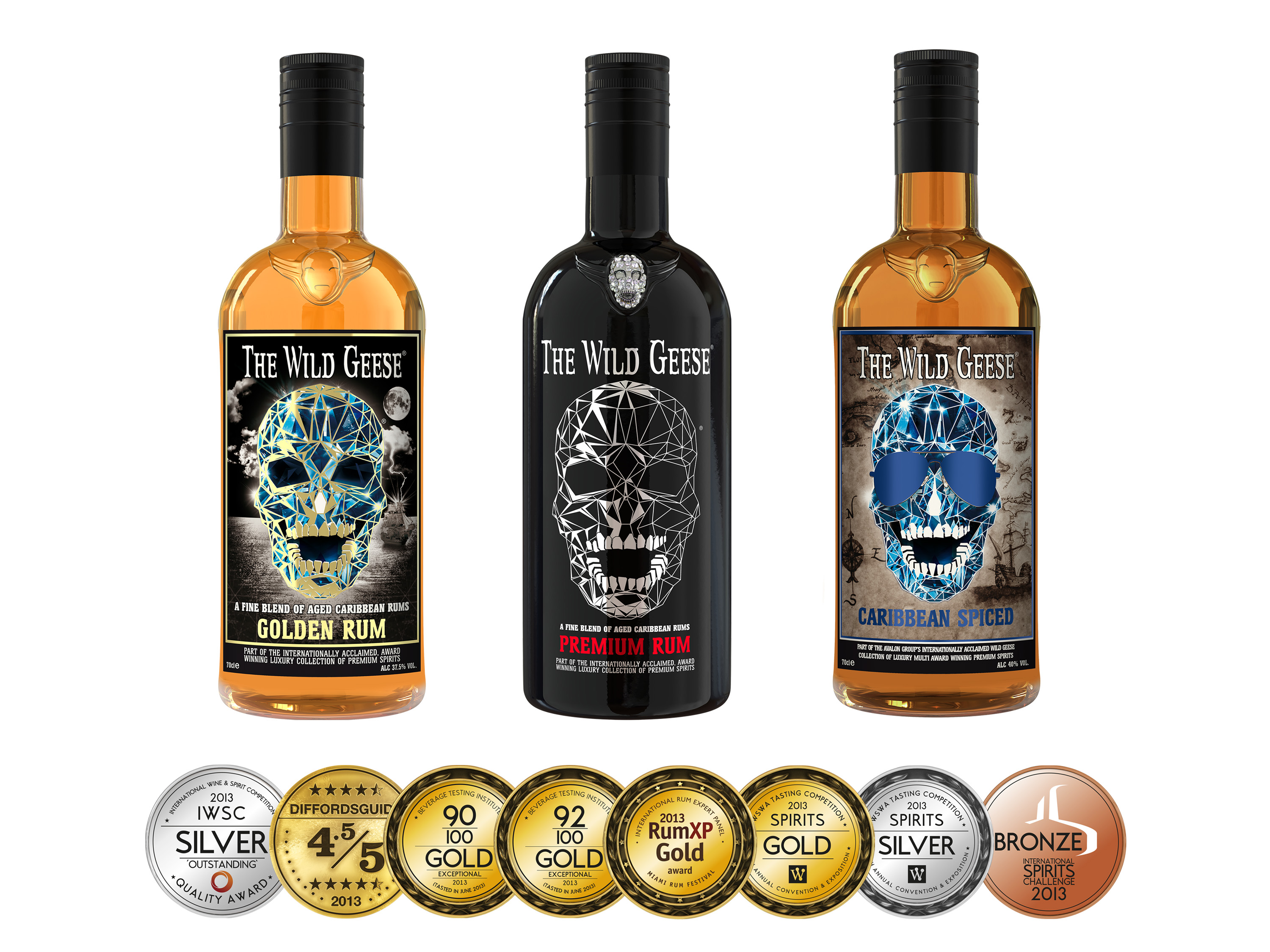 Caribbean Rum: THE WILD GEESE® Unleash A New Collection Of Multi Award