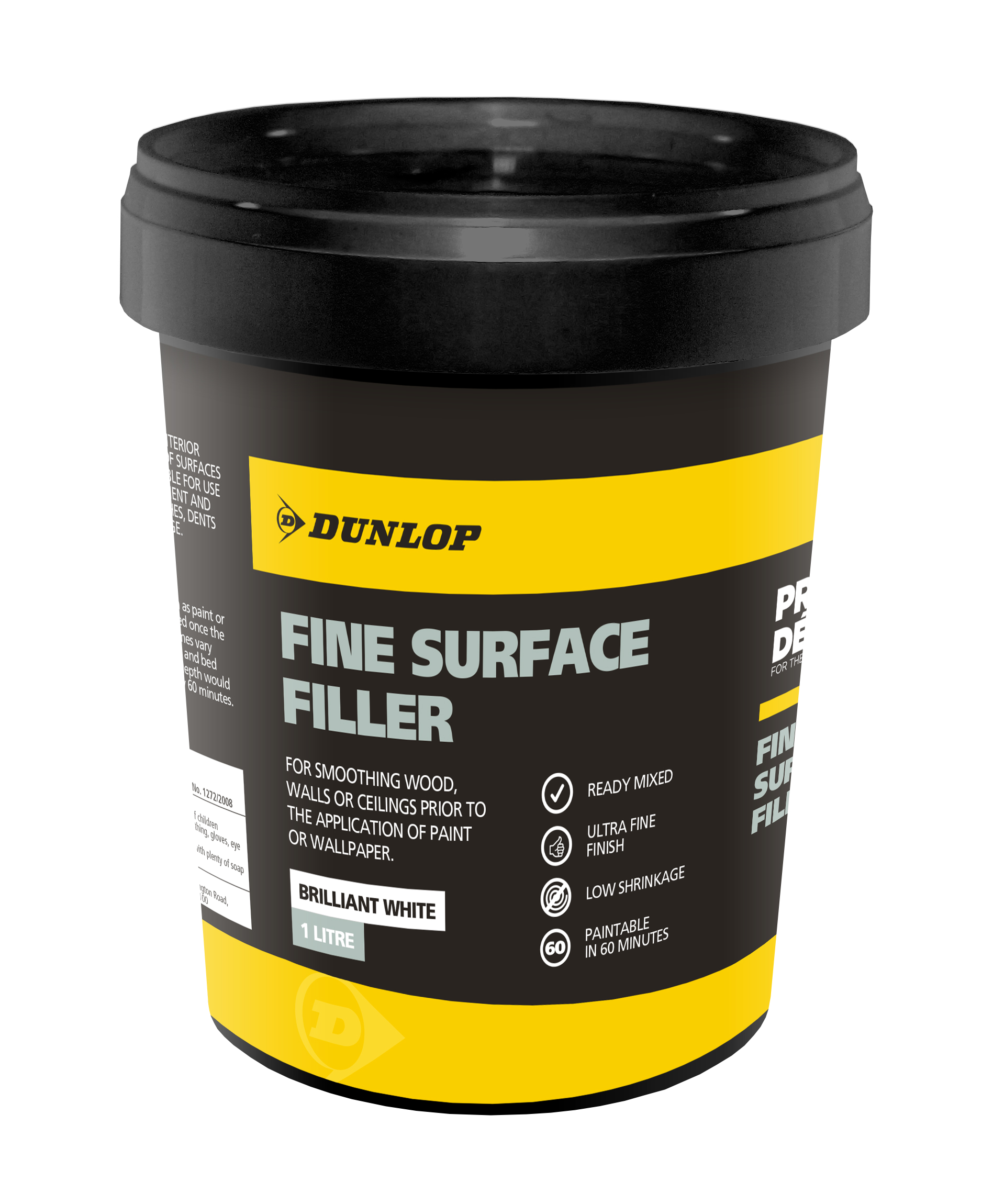 Dunlop Pro Décor Fine Surface Filler.