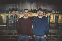 James Watt and Martin Dickie announce BrewDog as a Living Wage employer