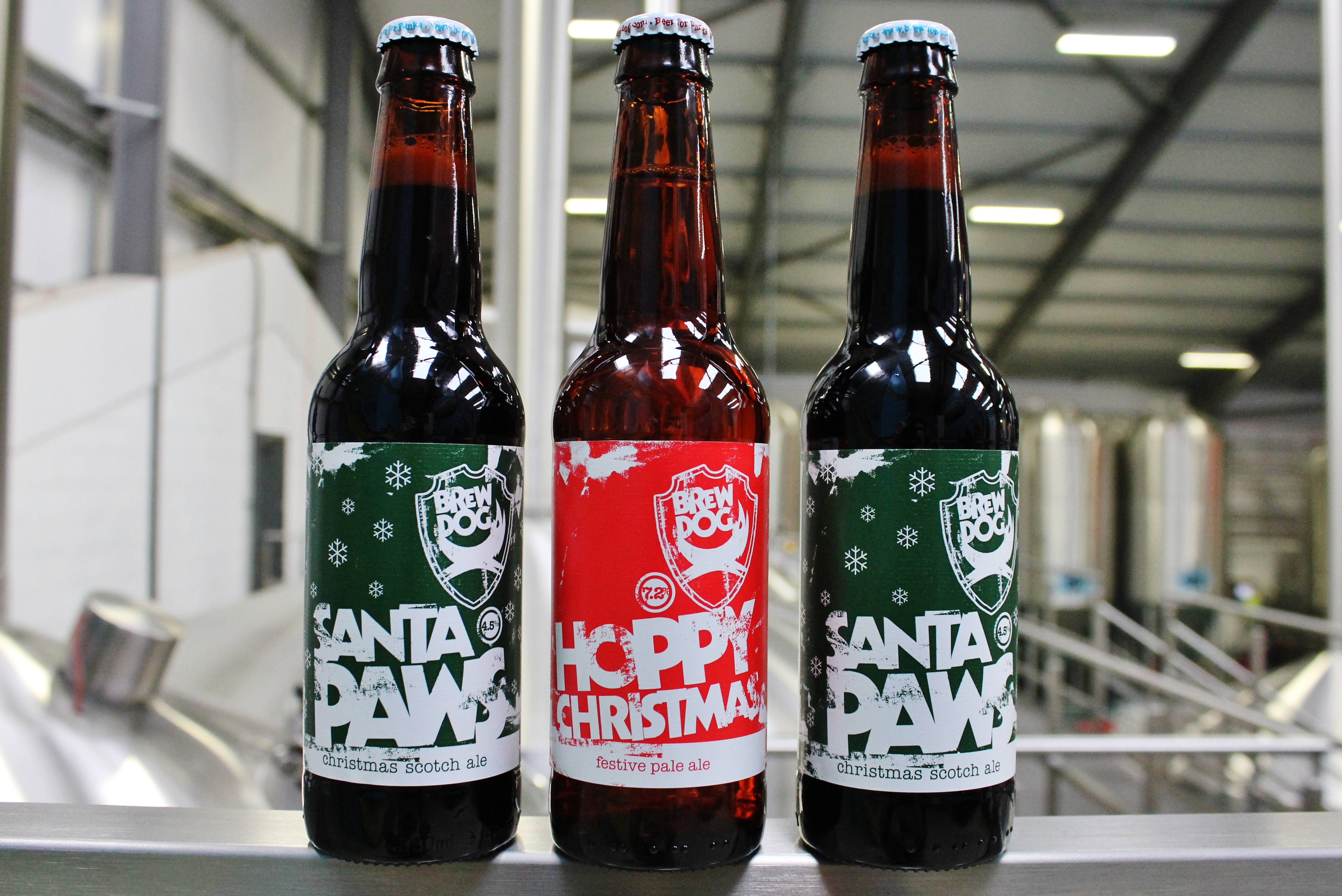 Hoppy Christmas: BrewDog launches limited edition Christmas beers ...