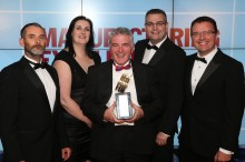 Award winners! Building Adhesives scoops prestigious Manufacturing Excellence award
