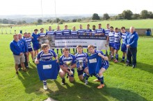 On the ball! Local housebuilder supports amateur rugby club in Siddal