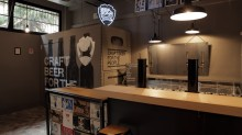 Bologna is BrewDog's second bar in Italy