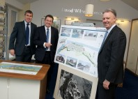 Barratt Developments Chief Executive visits Pioneering Brownfield Site in West Yorkshire