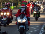 Grantham Meres' 25th Annual Santa Claus Run hailed a roaring success!
