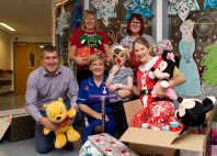 Local housebuilder brings festive cheer to youngsters at Leeds Children's Hospital