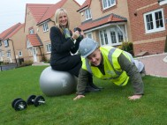 Free gym passes on offer to house hunters in Pontefract this January and February