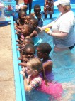 Inspirational Stamford swimming instructor hosts swimming gala in Swaziland
