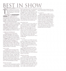 Best In Show - The Shropshire Magazine