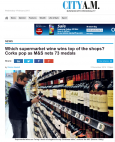 City A.M. - Which supermarket wine wins top of the shops? Marks & Spencer, Tesco and Morrisons win awards for their booze City A.M.