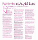 East Anglian Daily Times - Fizz for the Midnight Hour