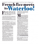 French Fizz Meets Its Waterloo - Daily Mail