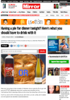 Having a pie for dinner tonight? Here's what you should have to drink with it - The Daily Mirror