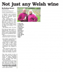 Monmouthshire Free Press (Main) - Not Just Any Welsh Wine
