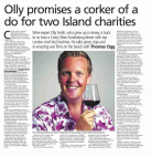 Olly Promises a Corker or Two - Jersey Post