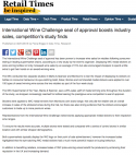 Retail Times - International Wine Challenge seal of approval