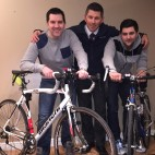 Local brothers take on 100-mile cycle and obstacle course to fundraise for toddler with rare form of cancer