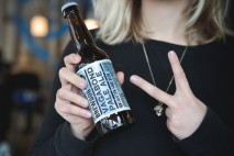 Beer drinkers stick two fingers up to gluten for the launch of BrewDog's first gluten free beer